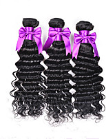 3Pcs Lot Hair Weft Brazilian Hair Weave Bundles Deep Wavy Virgin Brazilian Hair Extension Deep Wave