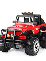 Buggy (Off-road) S.X. Toys Hummer 1:20 Brushless Electric RC Car Red / Green Ready-to-go