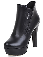 Women's Shoes  Spring/Fall/Winter/Platform/Bootie/Round Toe Heels/BootsOffice & Career/Party & Evening