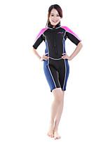 Others Women's / Men's Diving Suits Diving Suit Compression Wetsuits 2.5 to 2.9 mm Pink / Blue S / M / L / XL Diving