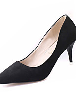 Women's Shoes Fleece Summer Heels Heels Casual Stiletto Heel Others Black / Red / Gray / Camel