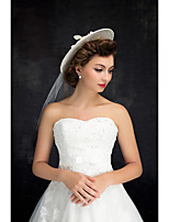 Women's Lace / Tulle / Flax Headpiece-Wedding Hats 1 Piece Clear Irregular 25