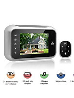 Peep Mirror Camera Camera Intercom Doorbell Doorbell Doorbell Call For Induction