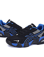 Da donna-Sneakers / Zoccoli e ciabatte-Casual / Sportivo-Modelli / Punta arrotondata-Piatto-Tulle-Arancione / Nero e bianco / Blu reale