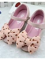 Girls' Shoes Outdoor / Dress / Casual Comfort PU Flats Pink / White