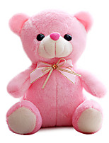 Colorful Plush Doll Plush Toy Bear Pink Tie Lovers Gift