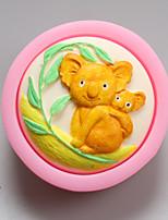 Koala Shape Chocolate Silicone Molds,Cake Molds,Soap Molds,Decoration Tools Bakeware