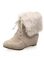 Women's Shoes  Fashion Boots Boots Outdoor / Office & Career / Casual Low Heel OthersBlack / Pink /&12535