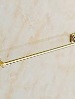 Barre porte-serviette / Ti-PVD / Fixation Murale /60*4*7cm(23.6*1.6*2.8inch) /Laiton /Contemporain /60cm 7cm 0.6
