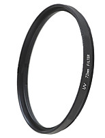 Emoblitz 72mm UV Ultra-Violet Protector Lens Filter Black