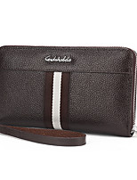 Men-Formal / Casual / Office & Career / Shopping-PU-Clutch-Brown / Black
