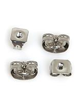 beadia 400pcs earnuts pendiente de acero inoxidable tapón para los oídos resultados de la joyería en forma de collar&pulsera (2