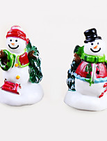 Moss Micro Landscape Ornaments Christmas Tree Lovely Snowman Pine DIY Toys