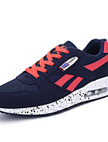 Women's Sneakers Summer Flats Tulle / Fabric Braided Strap Black / Blue / Pink / Red Running