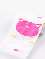 Girls Socks & Stockings,All Seasons Cotton Black / Pink / Purple / White / Yellow