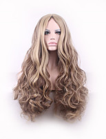 Pelucas Sinteticas Curly Peruca Harajuku Perucas Hair Styles Long Hair Ombre Wig Synthetic Wigs Perruque Synthetic Women