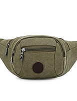 Men-Formal-PVC-Waist Bag-Green / Black