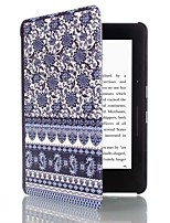 6 Inch Magnetic Buckle Pattern PU Leather Case with Sleep for Amazon kindle voyage (Assorted Colors)