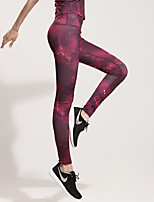 Running Bottoms / Tights / Pants Women's Breathable / Quick Dry / Compression / Sweat-wicking / Stretch Terylene Yoga / Fitness / Running