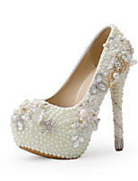 Women's Shoes Stiletto Heel Heels Heels Wedding / Party & Evening / Dress Beige