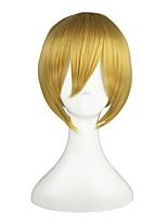 VOCALOID-Len Gold 14inch Anime Cosplay Wig CS-048A