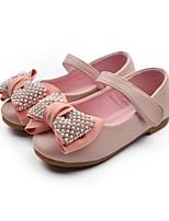 Girls' Shoes Dress / Casual Comfort PU Flats Black / Pink / Fuchsia