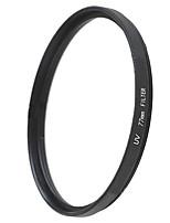 EMOBLITZ 77mm UV ultravioleta filtro protector de lente negro
