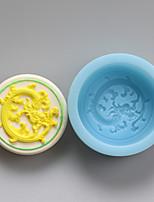 moldes dragão silicone chocolate, moldes de bolo, moldes de sabão, ferramentas de decoração bakeware