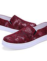2016 Fashion Men's Shoes PU Outdoor / Casual Flats Outdoor / Casual Walking Flat Heel Shoes