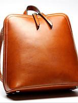 Women-Formal-PU-Shoulder Bag-Brown