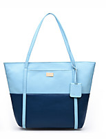 Women-Formal / Casual / Office & Career / Shopping-PU-Tote-Blue / Yellow