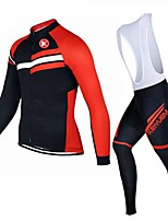 KEIYUEM®Others Winter Thermal Fleece Long Sleeve Cycling Jersey+Bib Tights Ropa Ciclismo Cycling Clothing Suits #W13