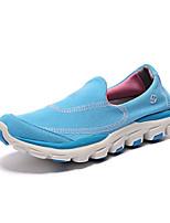 Da donna-Sneakers-Tempo libero / Sportivo-Punta arrotondata / Chiusa-Piatto-Di corda-Blu / Rosso