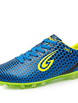 Men's Shoes Faux Leather Athletic Shoes / Sneakers Soccer Others Blue / Yellow / Navy