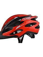 Casque Vélo(Rouge,PVC)-deHomme-Cyclisme / Cyclisme en Montagne / Cyclisme sur Route Sports 24 Aération M : 55-59cm / L : 59-63cm