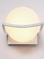 luces de la pared de vidrio de diseño moderno tapa de base cafetería comedor dormitorio bares tabla de la barra de metal lámpara pasillo