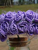 European Style Artificial Flower for Home Decoration 144pcs/set(Random Color)
