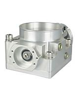 bil modifieras för att öka intaget av luft gasspjället 70 mm gasspjälls diameter ventil lämplig för nissan