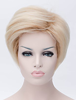 European And American Fashion Ladies Hair Golden Nylon Hair Wigs