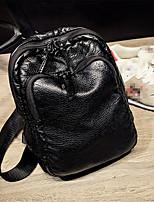 Women-Casual-PU-Shoulder Bag-Black