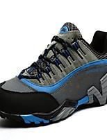 Zapatos Senderismo Cuero Azul / Marrón / Caqui / Azul Real / Bermellón Hombre / Unisex