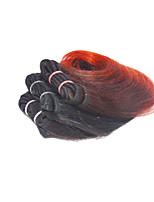 4 pezzi Ondulato Tessiture capelli umani Brasiliano Tessiture capelli umani Ondulato
