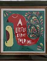 Stretched Canvas Print, a_little_birdy
