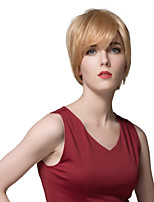 Beautiful Short Straight Human Hair Wigs For Women   With The Great Quality