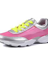 Scarpe Donna-Sneakers alla moda-Sportivo-Comoda-Piatto-Tulle-Verde / Grigio / Fucsia