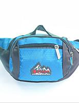 Men-Formal-Canvas-Waist Bag-Blue / Green / Red