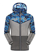 Outdoor Men's Tops Camping & Hiking / Leisure Sports /RunningWaterproof / Breathable / Ultraviolet Resistant