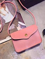 Women-Formal-PU-Shoulder Bag-Pink