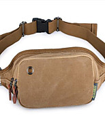 Men-Formal-PVC-Waist Bag-Khaki