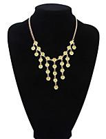 Fashion Small Fresh Flowers Tassel Necklace